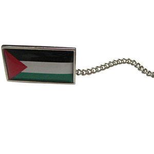 Palestine Flag Tie Tack